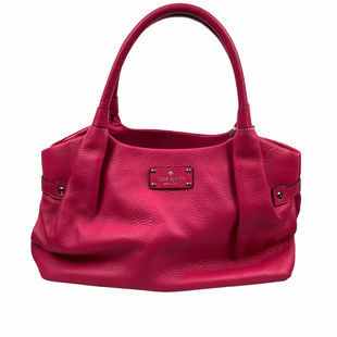 Primary Photo - BRAND: KATE SPADE STYLE: HANDBAG DESIGNER COLOR: RASPBERRY SIZE: SMALL OTHER INFO: AS IS(SPOTTING) SKU: 160-160197-12935