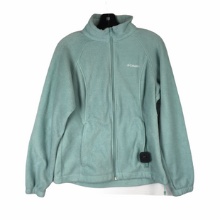 Primary Photo - BRAND: COLUMBIA STYLE: FLEECE COLOR: SEAFOAM SIZE: M OTHER INFO: AS IS(WEAR/SPOTTING) SKU: 160-160197-12012