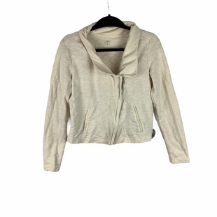 Primary Photo - BRAND: ANN TAYLOR LOFT STYLE: BLAZER JACKET COLOR: CREAM SIZE: M SKU: 160-160216-785
