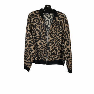 Primary Photo - BRAND: SHEIN STYLE: JACKET OUTDOOR COLOR: ANIMAL PRINT SIZE: 1X SKU: 160-160124-18982