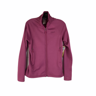 Primary Photo - BRAND: PATAGONIA STYLE: JACKET OUTDOOR COLOR: MAGENTA SIZE: S OTHER INFO: AS IS (PULLED THREADS) SKU: 160-160218-3229