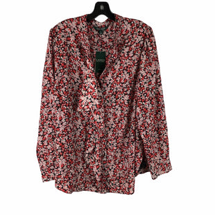 Primary Photo - BRAND: RALPH LAUREN STYLE: TOP LONG SLEEVE COLOR: FLORAL SIZE: 3X SKU: 160-160201-3282