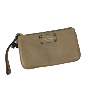Primary Photo - BRAND: KATE SPADE STYLE: WRISTLET COLOR: TAN OTHER INFO: AS IS SKU: 160-16071-77770