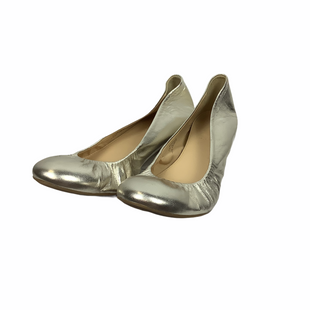 Primary Photo - BRAND: J CREW STYLE: SHOES FLATS COLOR: SILVER SIZE: 9 SKU: 160-160208-57