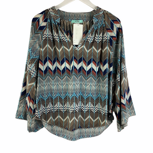 Primary Photo - BRAND: KARLIE STYLE: TOP LONG SLEEVE COLOR: BROWN SIZE: S SKU: 160-16071-78392