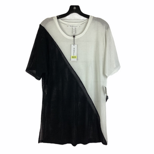 Primary Photo - BRAND: BCBGENERATION STYLE: COVERUP COLOR: BLACK WHITE SIZE: L SKU: 160-160218-4959