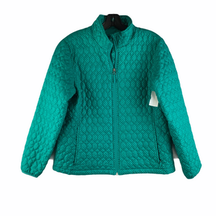 Primary Photo - BRAND: LANDS END STYLE: JACKET OUTDOOR COLOR: BLUE SIZE: PETITE  MEDIUM SKU: 160-160219-1120