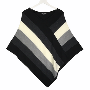 Primary Photo - BRAND: CABLE AND GAUGE STYLE: PONCHO COLOR: BLACK SIZE: M SKU: 160-160208-586AS IS
