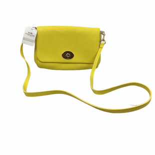 Primary Photo - BRAND: COACH STYLE: HANDBAG DESIGNER COLOR: YELLOW SIZE: SMALL SKU: 160-160197-12932