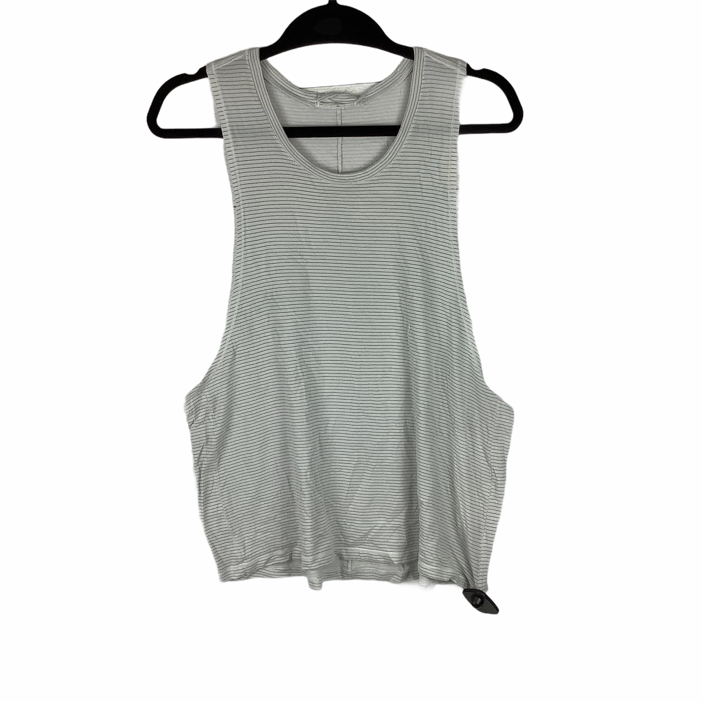 Primary Photo - BRAND: LULULEMON <BR>STYLE: ATHLETIC TOP <BR>COLOR: GREY WHITE <BR>SIZE: S <BR>SKU: 160-160180-21949
