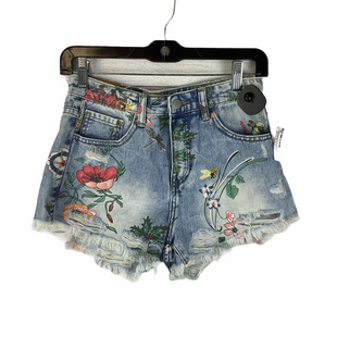 Primary Photo - BRAND:    CLOTHES MENTOR STYLE: SHORTS COLOR: DENIM SIZE: S OTHER INFO: MISS BONBON - SKU: 160-160228-6804