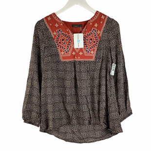 Primary Photo - BRAND: THML STYLE: TOP LONG SLEEVE COLOR: BROWN SIZE: XS SKU: 160-16071-78382