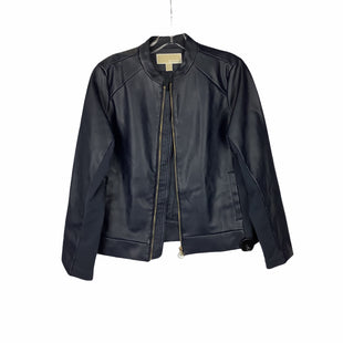 Primary Photo - BRAND: MICHAEL BY MICHAEL KORS STYLE: JACKET OUTDOOR COLOR: NAVY SIZE: M SKU: 160-160201-1601