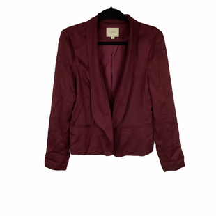 Primary Photo - BRAND: ANN TAYLOR LOFT O STYLE: BLAZER JACKET COLOR: MAROON SIZE: M SKU: 160-160197-12765