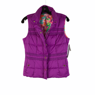 Primary Photo - BRAND: LILLY PULITZER STYLE: VEST DOWN COLOR: PURPLE SIZE: XS OTHER INFO: AS IS - MARKS NEAR COLLARSKU: 160-16071-76401