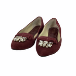Primary Photo - BRAND: MICHAEL BY MICHAEL KORS <BR>STYLE: SHOES DESIGNER <BR>COLOR: MAROON <BR>SIZE: 9 <BR>OTHER INFO: AS IS/ WEAR <BR>SKU: 160-160216-164