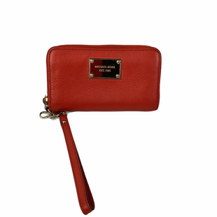 Primary Photo - BRAND: MICHAEL KORS STYLE: WRISTLET COLOR: ORANGE AS IS - MINOR MARKS SKU: 160-160228-2028