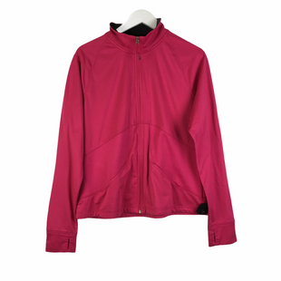 Primary Photo - BRAND: DANSKIN NOW STYLE: JACKET OUTDOOR COLOR: PINK SIZE: XL SKU: 160-160197-15174