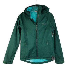 Primary Photo - BRAND: COLUMBIA STYLE: JACKET OUTDOOR COLOR: OLIVE SIZE: XS SKU: 160-160228-2439
