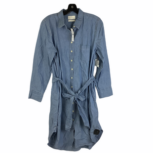 Primary Photo - BRAND: J CREW STYLE: DRESS SHORT LONG SLEEVE COLOR: DENIM SIZE: L (12 PETITE)SKU: 160-16071-78613