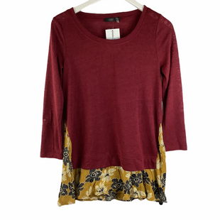 Primary Photo - BRAND: THML STYLE: TOP LONG SLEEVE COLOR: RED SIZE: S SKU: 160-16071-78423