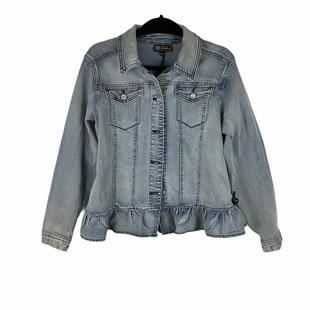 Primary Photo - BRAND:    CLOTHES MENTOR STYLE: JACKET OUTDOOR COLOR: DENIM SIZE: L OTHER INFO: DG2 - SKU: 160-160216-1812