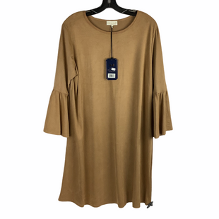 Primary Photo - BRAND: SIMPLY SOUTHERN STYLE: DRESS SHORT LONG SLEEVE COLOR: TAN SIZE: XL SKU: 160-160228-3684
