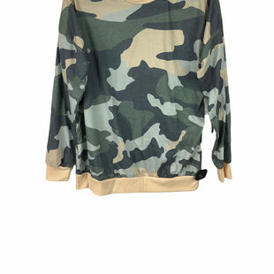 Primary Photo - BRAND:    CLOTHES MENTOR STYLE: TOP LONG SLEEVE COLOR: CAMOFLAUGE SIZE: L OTHER INFO: NAMEBRAND - SKU: 160-160197-11340