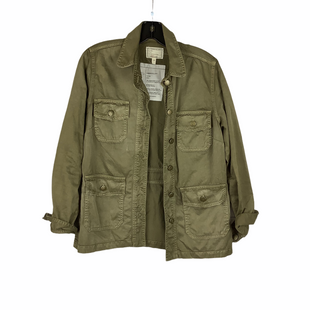 Primary Photo - BRAND: CURRENT ELLIOTT STYLE: JACKET OUTDOOR COLOR: GREEN SIZE: S OTHER INFO: AS IS(LIGHT SPOTTING/WEAR) SKU: 160-160197-10361