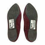Photo #3 - BRAND: MICHAEL BY MICHAEL KORS <BR>STYLE: SHOES DESIGNER <BR>COLOR: MAROON <BR>SIZE: 9 <BR>OTHER INFO: AS IS/ WEAR <BR>SKU: 160-160216-164