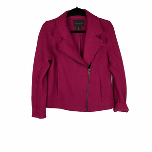 Primary Photo - BRAND: TAHARI STYLE: JACKET OUTDOOR COLOR: RASPBERRY SIZE: S SKU: 160-160216-1834