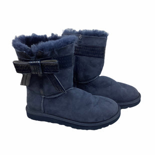 Primary Photo - BRAND: UGG STYLE: BOOTS DESIGNER COLOR: BLUE SIZE: 6 OTHER INFO: AS IS(SPOTTING/WEAR) SKU: 160-160197-12248