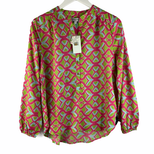 Primary Photo - BRAND: BUCKHEAD BETTIES STYLE: TOP LONG SLEEVE COLOR: PINKGREEN SIZE: S SKU: 160-16071-78385
