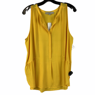 Primary Photo - BRAND: ANN TAYLOR LOFT STYLE: TOP SLEEVELESS COLOR: YELLOW SIZE: L SKU: 160-160197-18778