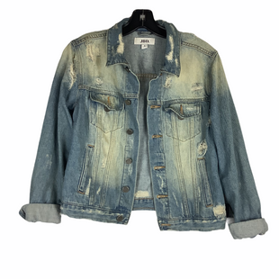 Primary Photo - BRAND:    CLOTHES MENTOR STYLE: JACKET OUTDOOR COLOR: DENIM SIZE: S OTHER INFO: JBD - SKU: 160-160197-17735