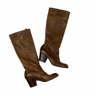 Primary Photo - BRAND: FRYE STYLE: BOOTS DESIGNER COLOR: BROWN SIZE: 7AS ISSKU: 160-160206-158