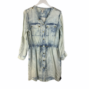 Primary Photo - BRAND: CHICOS STYLE: DRESS LONG LONG SLEEVE COLOR: DENIM SIZE: S SKU: 160-160201-1036