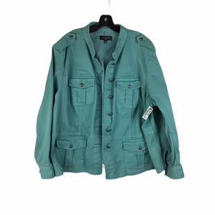 Primary Photo - BRAND: TALBOTS STYLE: JACKET OUTDOOR COLOR: BLUE SIZE: 3X SKU: 160-16071-77336