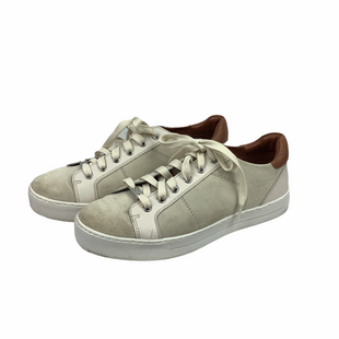 Primary Photo - BRAND: COACH STYLE: SHOES DESIGNER COLOR: CREAM SIZE: 9.5 AS IS - MINOR MARKSSKU: 160-160208-207