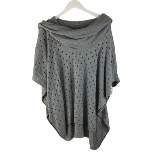 Primary Photo - BRAND:    CLOTHES MENTOR STYLE: PONCHO COLOR: GREY SIZE: ONESIZE OTHER INFO: WINTER LENNON - SKU: 160-160216-2295