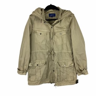 Primary Photo - BRAND: APT 9 STYLE: JACKET OUTDOOR COLOR: TAN SIZE: L SKU: 160-160197-12454