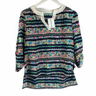 Primary Photo - BRAND: KARLIE STYLE: TOP LONG SLEEVE COLOR: MULTI SIZE: M SKU: 160-16071-78388