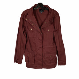 Primary Photo - BRAND:    CLOTHES MENTOR STYLE: JACKET OUTDOOR COLOR: MAROON SIZE: S OTHER INFO: TINSEL - SKU: 160-160197-12285