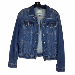 Primary Photo - BRAND: UNIVERSAL THREAD STYLE: JACKET OUTDOOR COLOR: DENIM SIZE: M SKU: 160-160197-17127