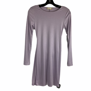 Primary Photo - BRAND: ALTARD STATE STYLE: DRESS SHORT LONG SLEEVE COLOR: LAVENDER SIZE: S SKU: 160-160239-2