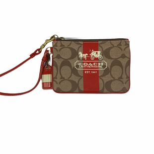 Primary Photo - BRAND: COACH STYLE: WRISTLET COLOR: RED SKU: 160-160201-1633