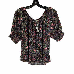 Primary Photo - BRAND: LOFT STYLE: TOP SHORT SLEEVE COLOR: FLORAL SIZE: M SKU: 160-160228-6749