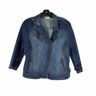 Primary Photo - BRAND: CHICOS STYLE: JACKET OUTDOOR COLOR: DENIM SIZE: S SKU: 160-160216-1090