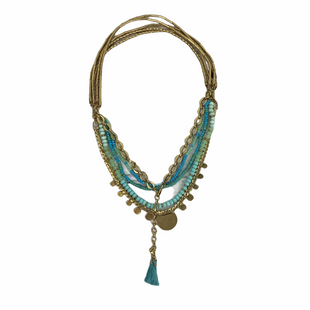 Primary Photo - BRAND: STELLA AND DOT STYLE: NECKLACE COLOR: BLUE SKU: 160-16071-73616