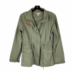 Primary Photo - BRAND: LOFT STYLE: JACKET OUTDOOR COLOR: OLIVE SIZE: S SKU: 160-160206-1116